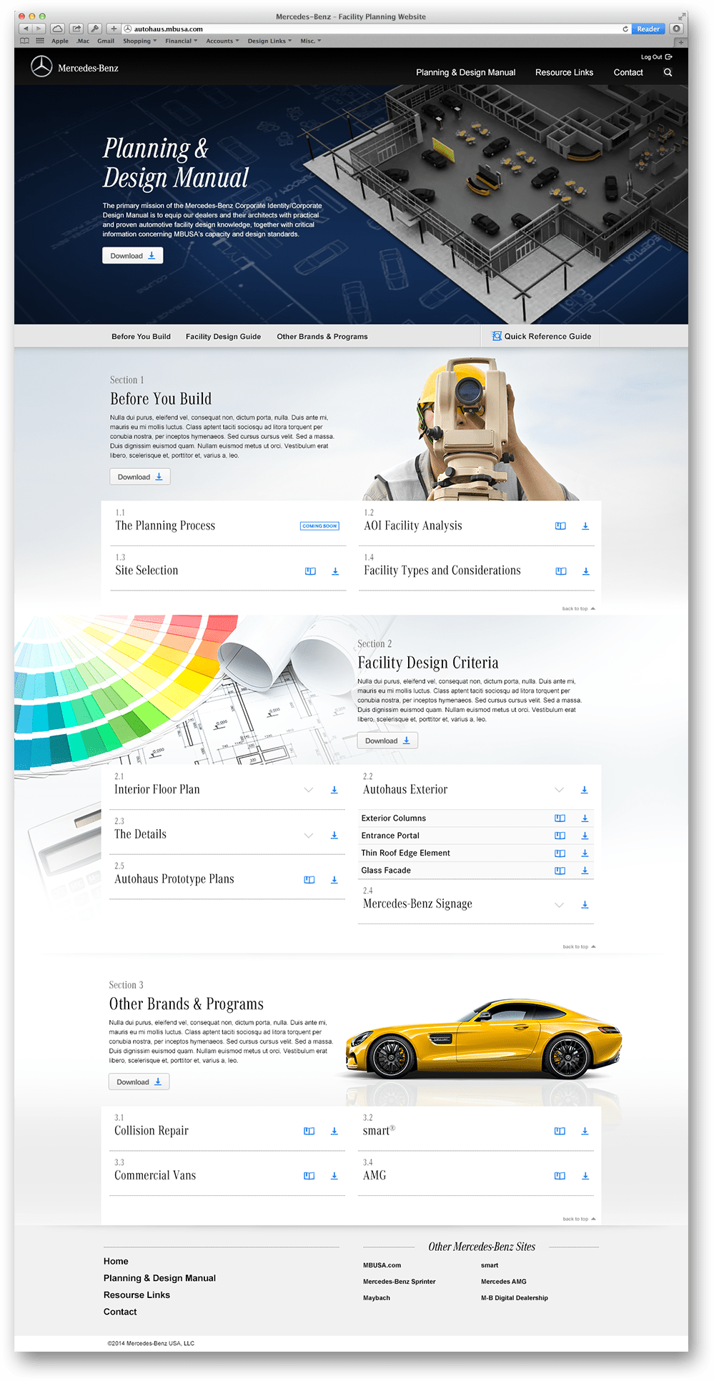 Planning and Design Manual Page