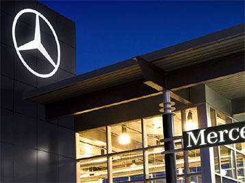 Mercedes-Benz Facility Planning Website