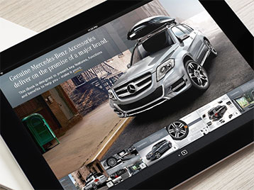 Mercedes-Benz GLK Accessories iBook